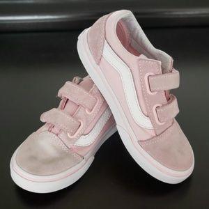 Vans Old Skool Vecro Tennis Shoes